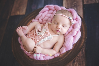 Sweetest baby girl - Canberra Newborn Photographer